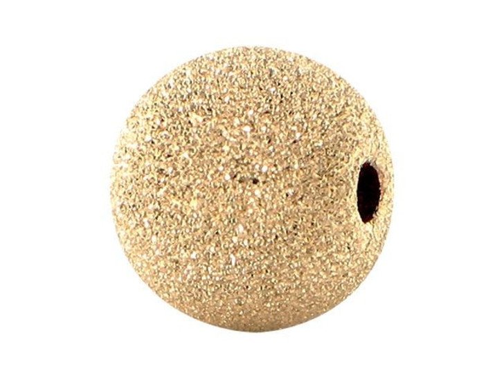 Gold-Filled 14K/20 10mm Round Stardust Bead