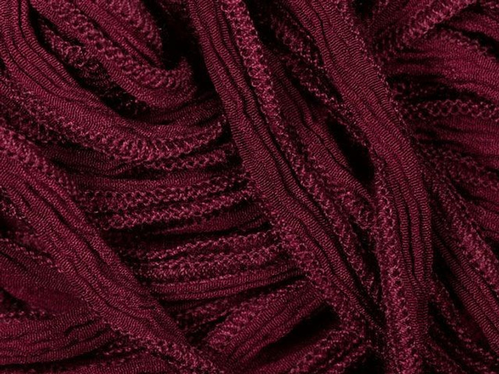 Hand-Dyed Silk Ribbon Burgundy (32-36 Inches)