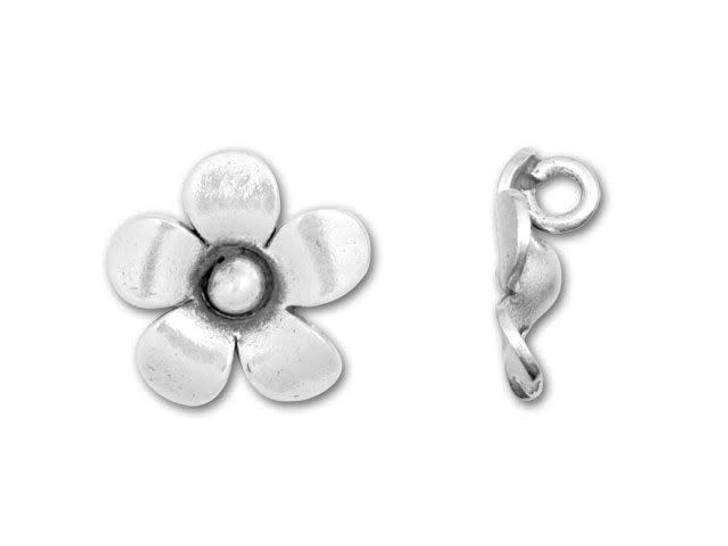 Hill Tribe Silver Blossom Pendant