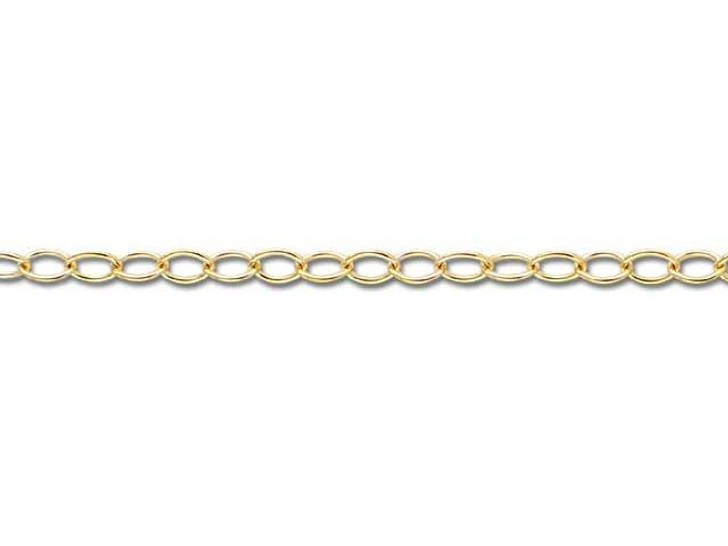Gold-Filled 14K/20 1512 Cable Chain by the Foot