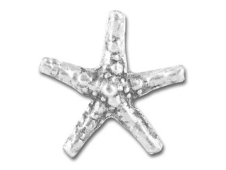 Hill Tribe Silver Medium Starfish Pendant