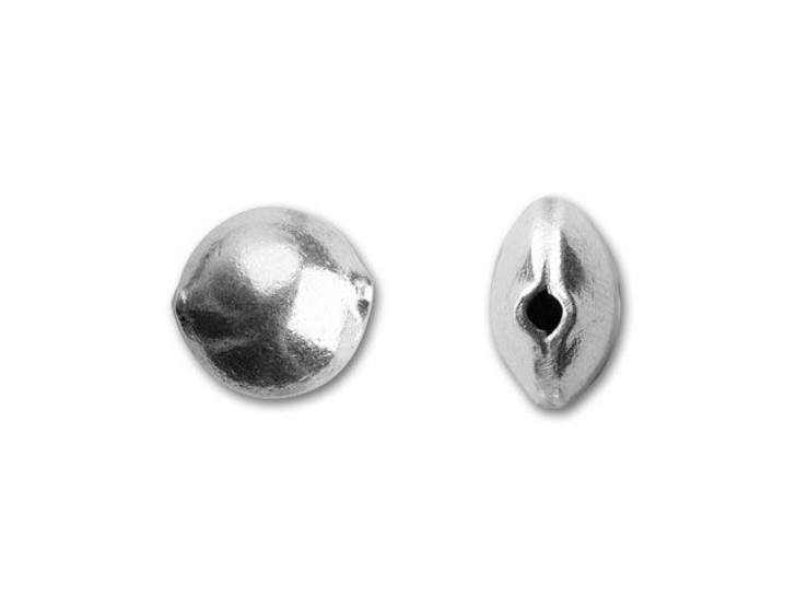 Hill Tribe Silver Small Puffed Round Bead