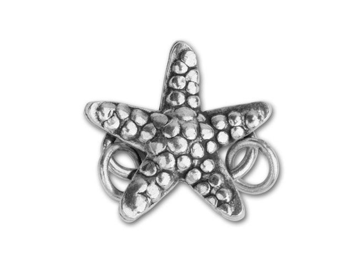 Hill Tribe Silver Starfish S Clasp