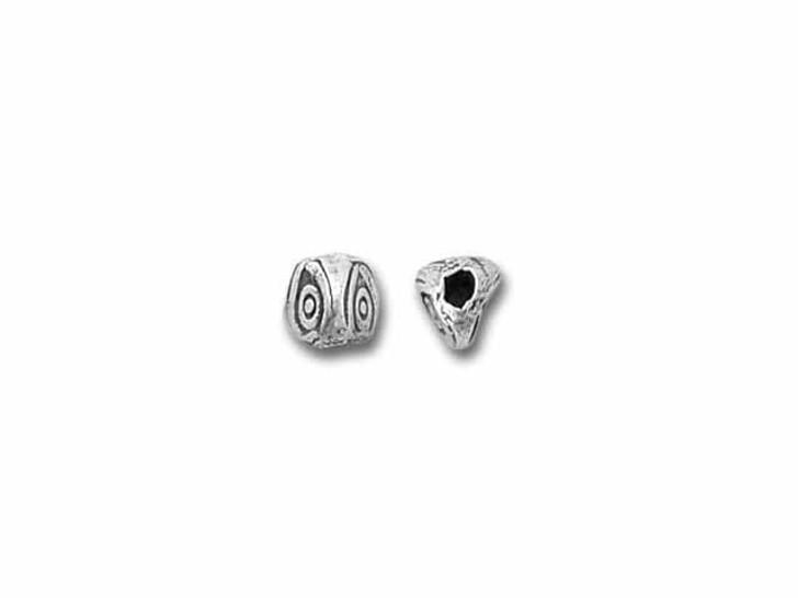 Hill Tribe Silver Three-sided Eye Bead