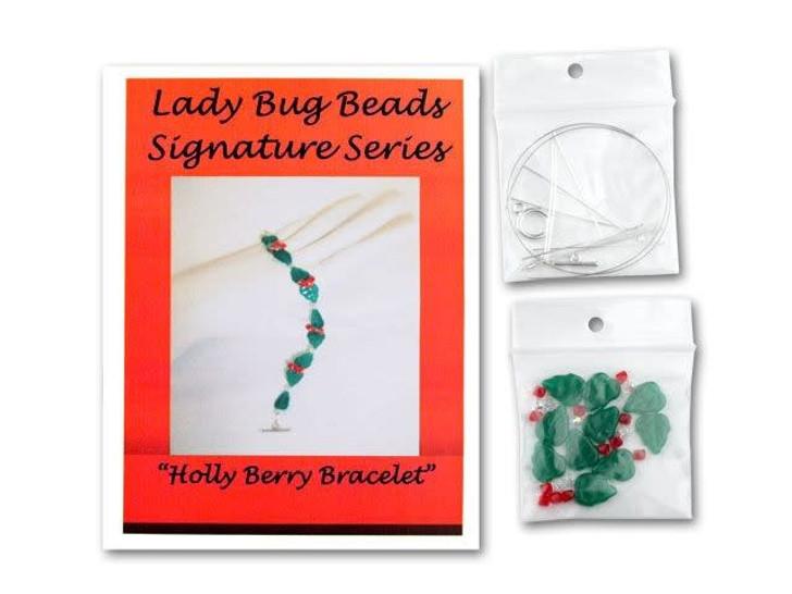 Holly Berry Bracelet Kit