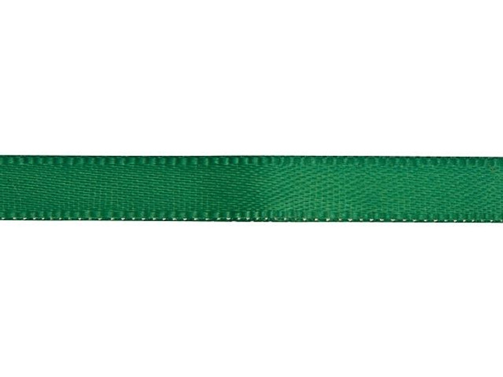 Hunter Green 1/4 Inch Satin Ribbon By the Foot