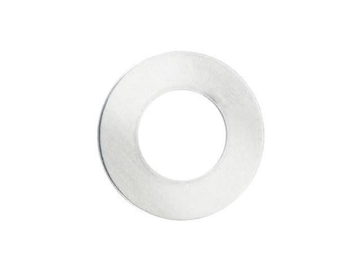 ImpressArt 25mm Round Washer, Silver Stamping Blank