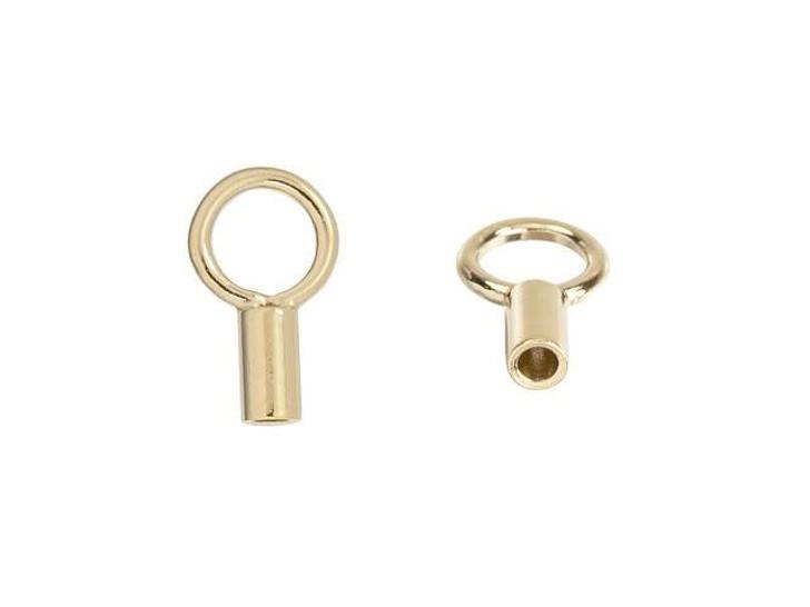 Gold-Filled 14K/20 1mm Crimp Endcap