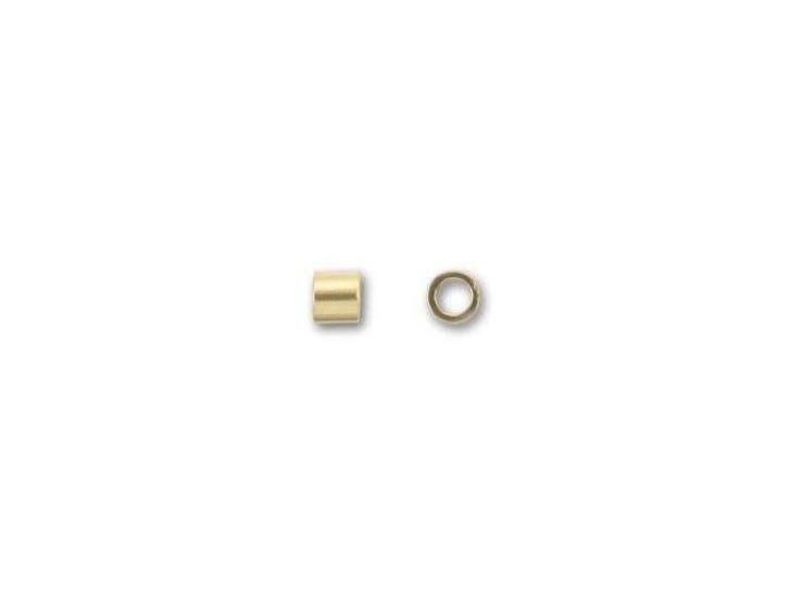 Gold-Filled 14K/20 1x1mm Crimp Tube