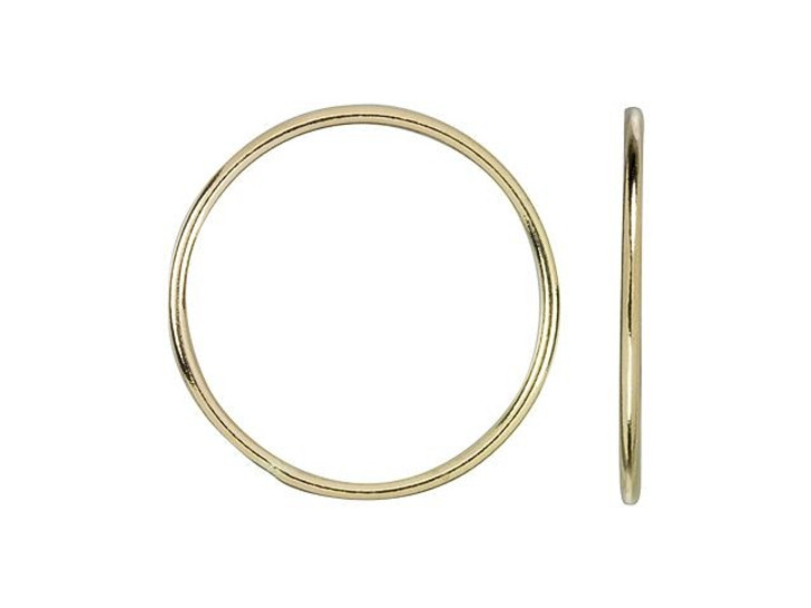 Gold-Filled 14K/20 20mm 18 gauge Stacking Ring