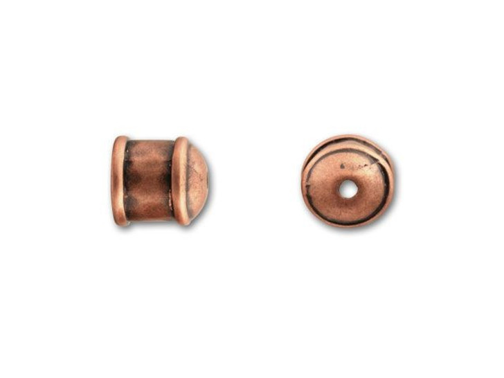 JBB Antique Copper-Plated Pewter End Cap