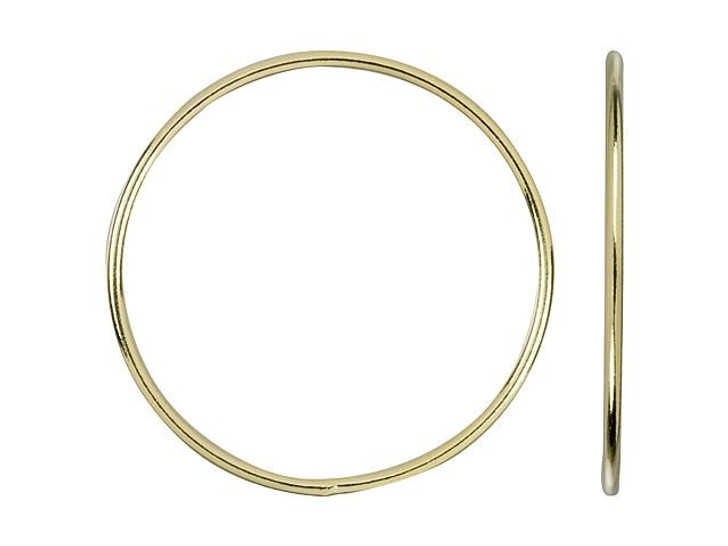 Gold-Filled 14K/20 25mm 18 gauge Closed Round Jump Ring