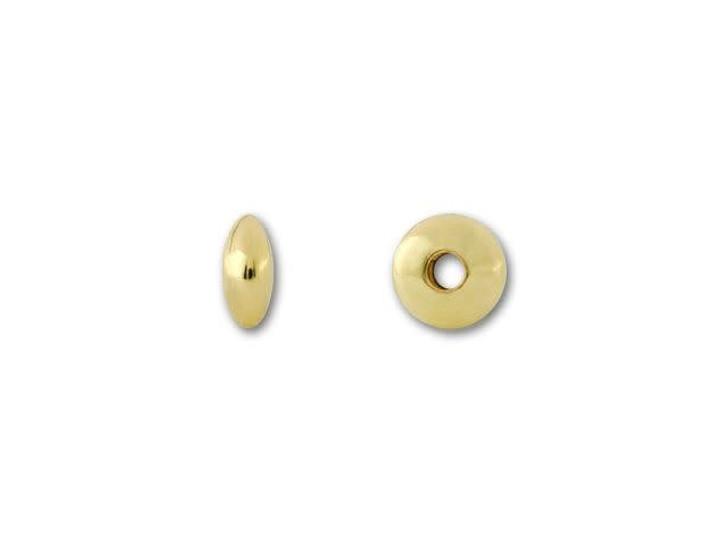 Gold-Filled 14K/20 3.6mm Saucer Bead