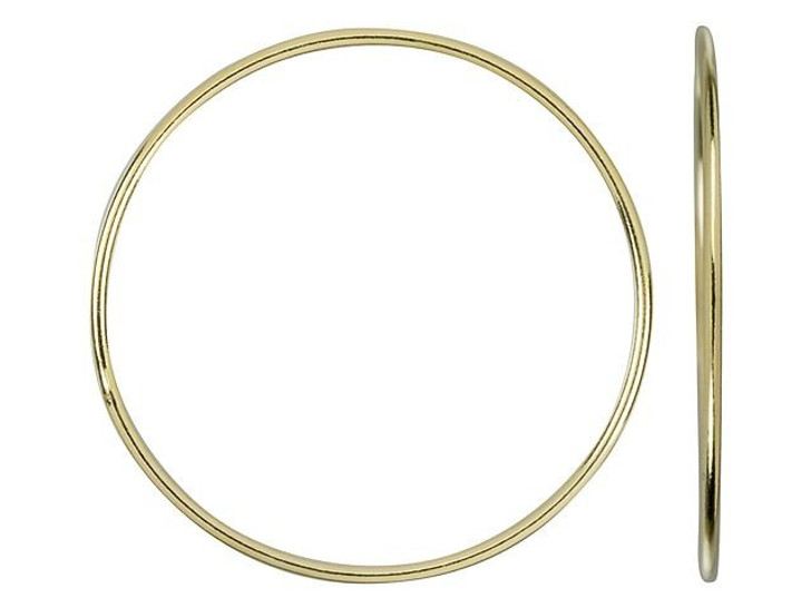 Gold-Filled 14K/20 30mm 18 gauge Closed Round Jump Ring