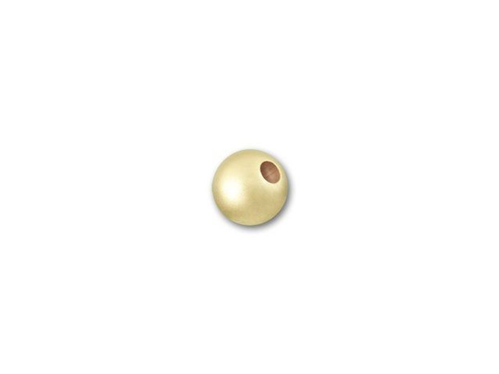 Gold-Filled 14K/20 3mm Round Matte Bead