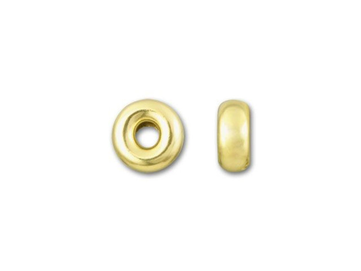Gold-Filled 14K/20 4.2mm Bright Roundel Bead