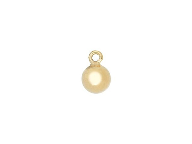 Gold-Filled 14K/20 4mm Ball Drop Charm