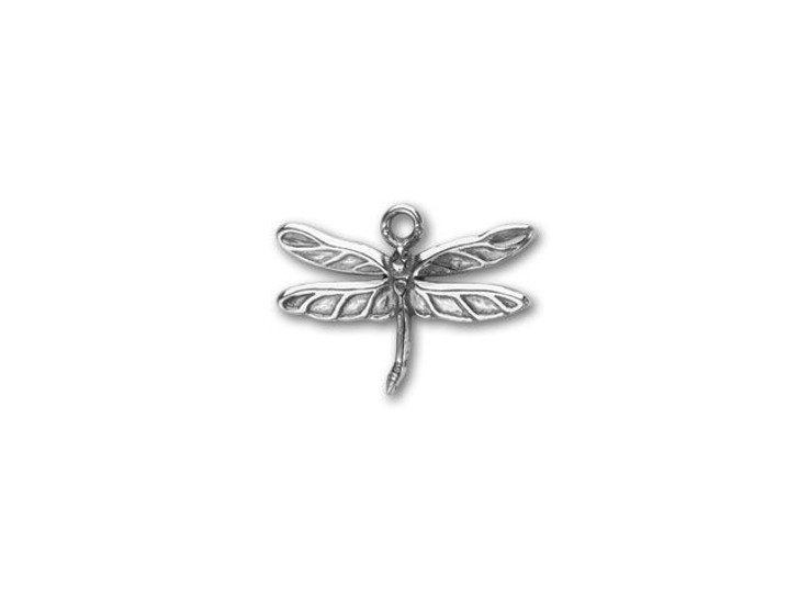 JBB Sterling Silver Dragonfly Pendant