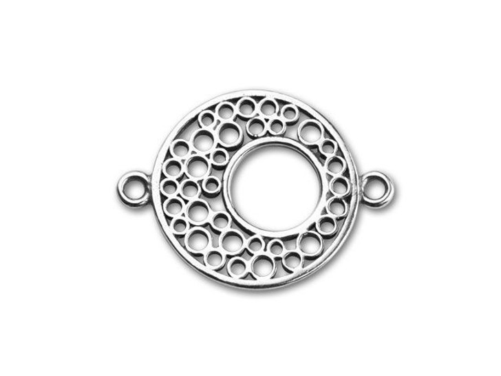 JBB Sterling Silver Eclipse Link with Holes