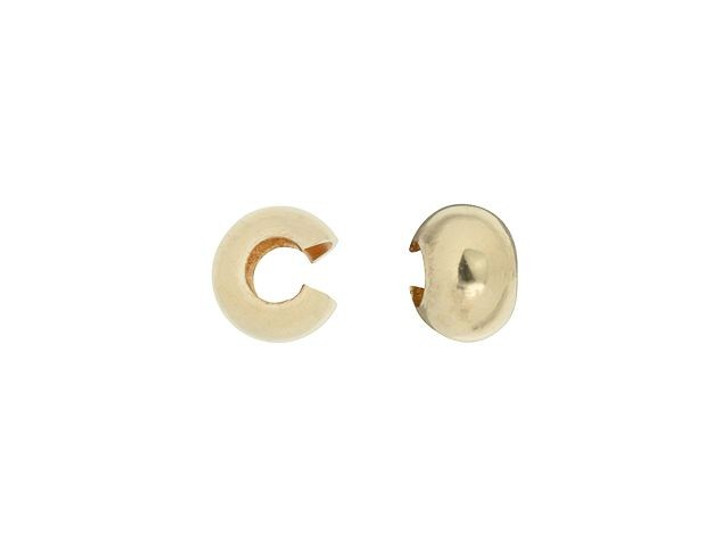 Gold-Filled 14K/20 4mm Crimp Cover