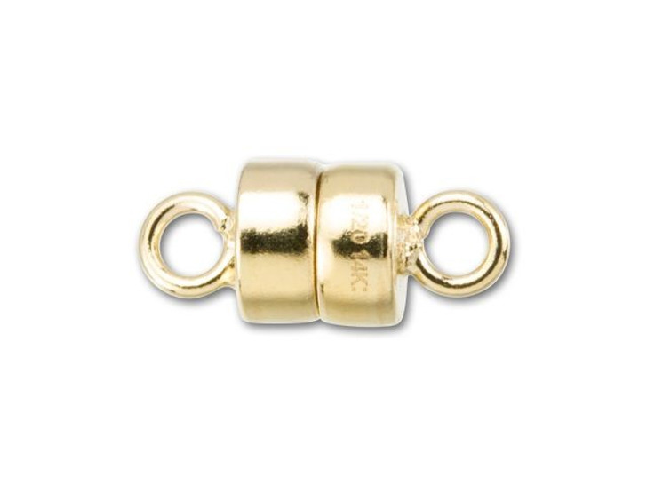 Gold-Filled 14K/20 4mm Magnetic Clasp