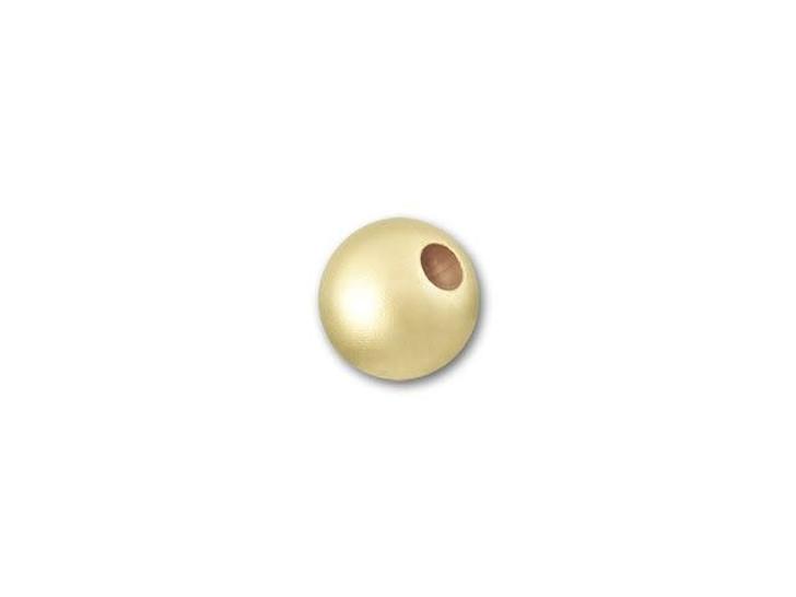 Gold-Filled 14K/20 4mm Round Matte Bead
