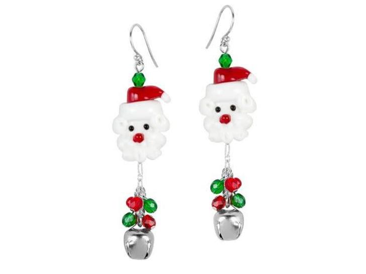 Jolly Santa Earrings Kit