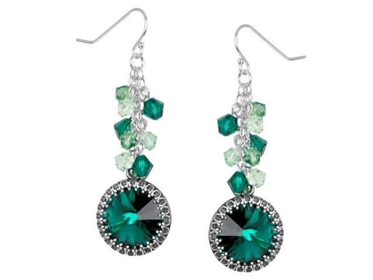Juniper Dance Earrings Kit featuring Swarovski Crystal