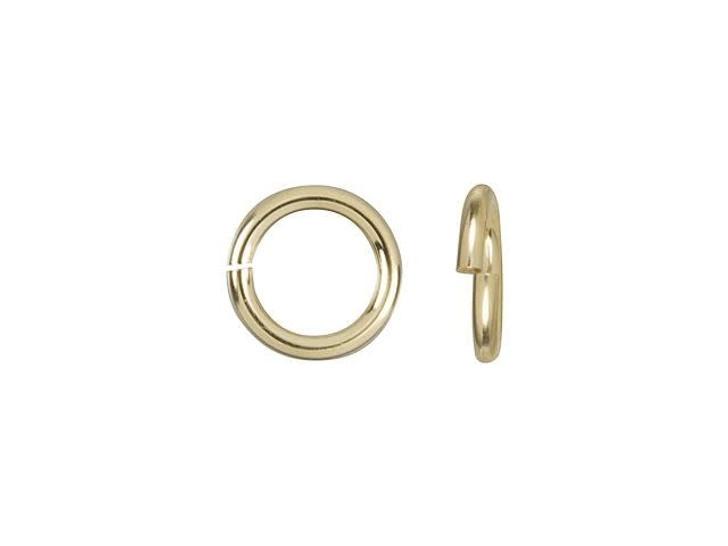 Gold-Filled 14K/20 5mm 20.5 gauge Open Round Jump Ring