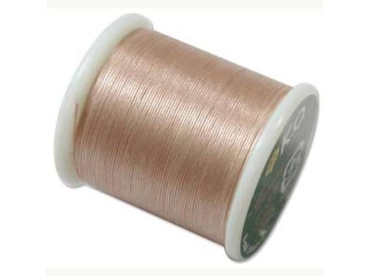 KO Nylon Japanese Beading Thread, Natural (55-Yard Spool)