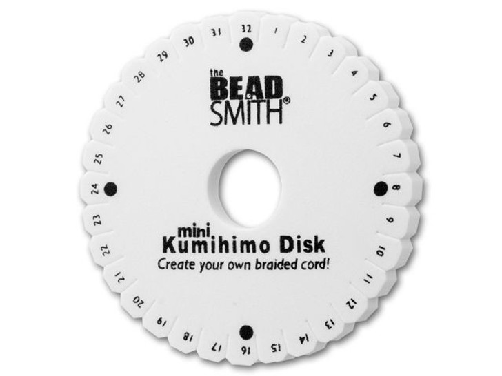 Kumihimo Braiding Disk by The Beadsmith (Small)