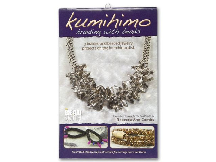 Kumihimo Braiding with Beads by Rebecca A Combs