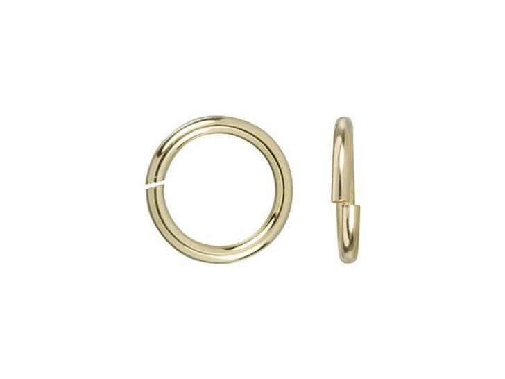 Gold-Filled 14K/20 6mm 20.5 gauge Open Round Jump Ring