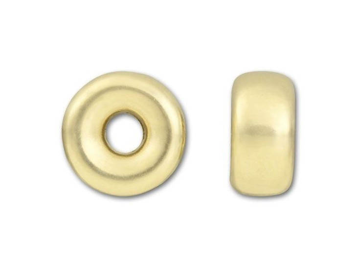 Gold-Filled 14K/20 7.1mm Bright Roundel Bead