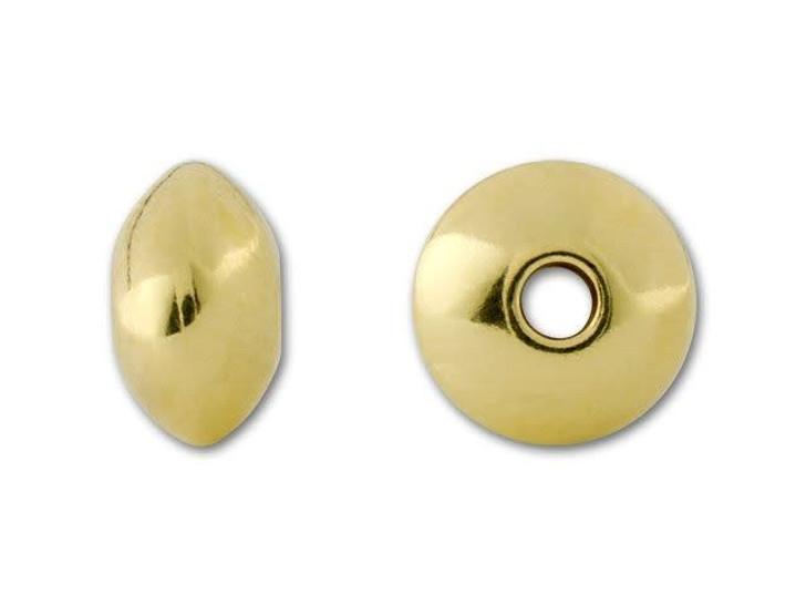 Gold-Filled 14K/20 7.8mm Saucer Bead