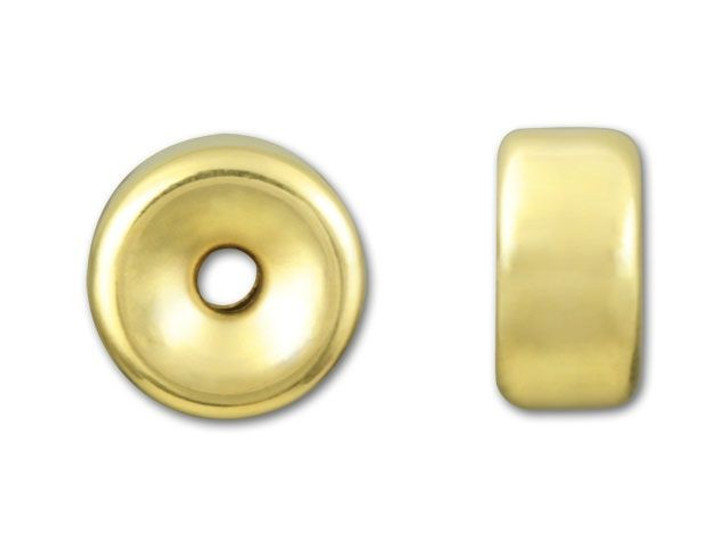 Gold-Filled 14K/20 8.1mm Bright Roundel Bead