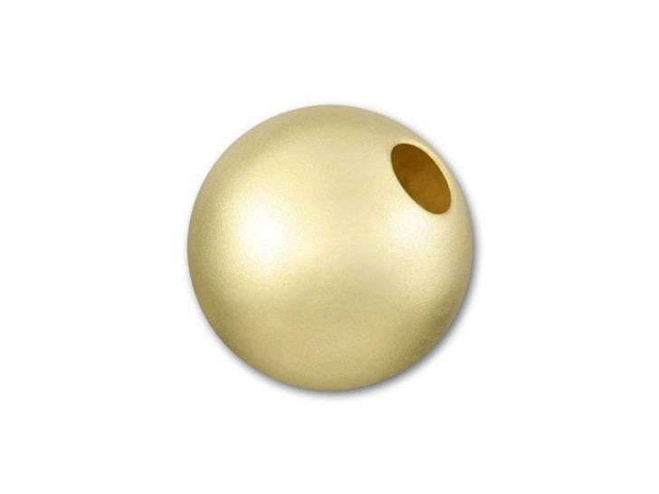 Gold-Filled 14K/20 8mm Round Matte Bead