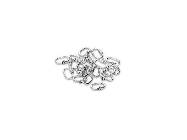 Link Lock Sterling Silver Locking Jump Ring Bulk Pack (20 Pcs)