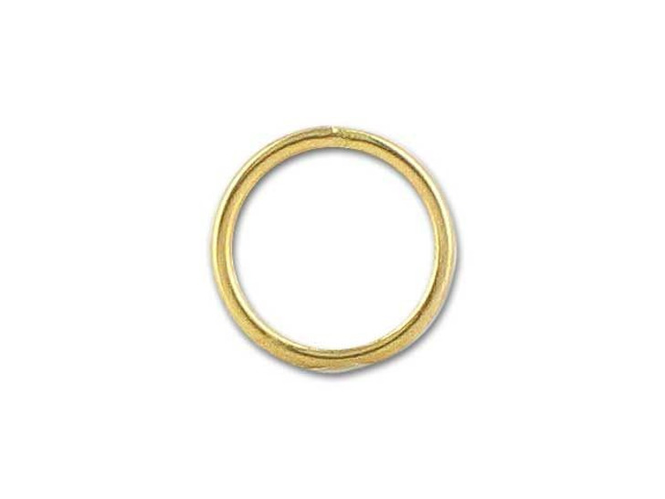 Gold-Filled 14K/20 Closed Jump Ring (0.64x6mm)