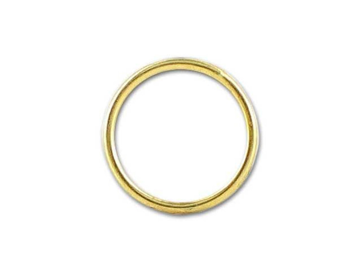 Gold-Filled 14K/20 Closed Jump Ring (0.64x7mm)