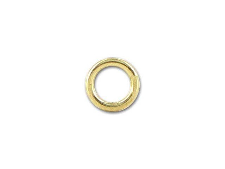 Gold-Filled 14K/20 Closed Jump Ring (0.76x4mm)