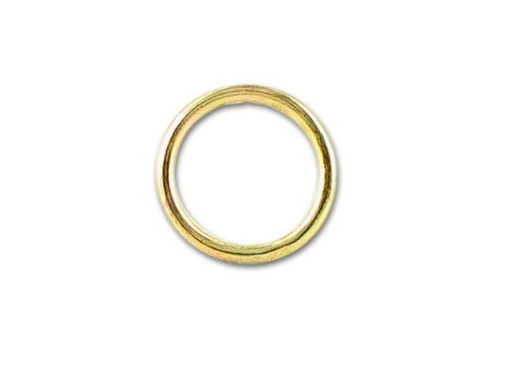Gold-Filled 14K/20 Closed Jump Ring (0.76x6mm)