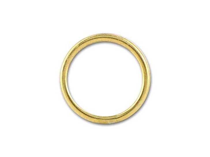 Gold-Filled 14K/20 Closed Jump Ring (0.76x7mm)