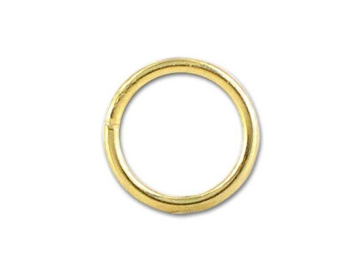 14K/20 Gold-Filled Closed Jump Ring (.89x7mm)