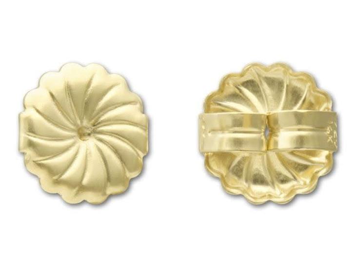 Gold-Filled 14K/20 Earring Back - Patterned