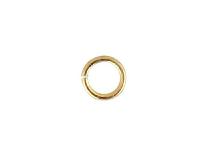 Gold-Filled 14K/20 Open Jump Ring 0.020 x .120 inches (0.5 x 3.0mm)