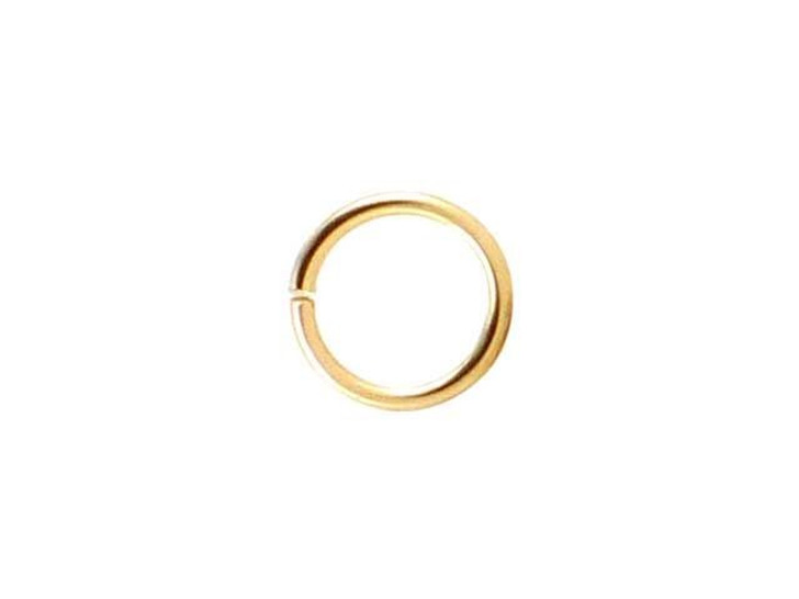 Gold-Filled 14K/20 Open Jump Ring 0.025 x .200 inches (0.6 x 5.0mm)