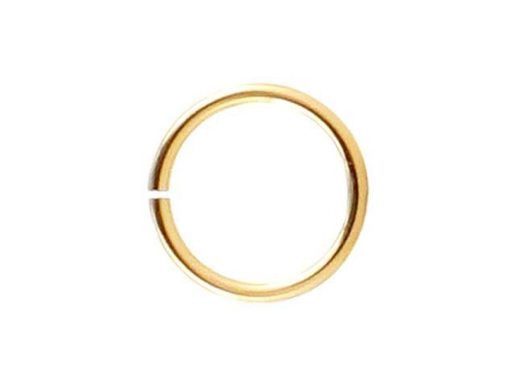 Gold-Filled 14K/20 Open Jump Ring 0.025 x .240 inches (0.6 x 6.0mm)