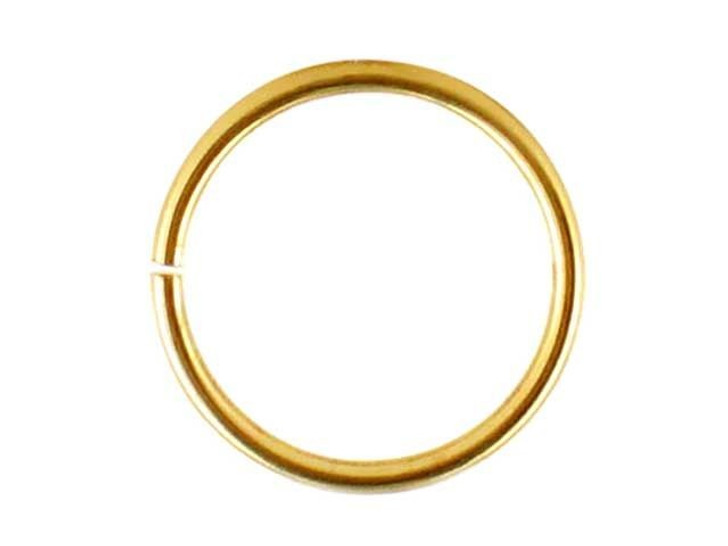 Gold-Filled 14K/20 Open Jump Ring 0.030 x .350 inches (0.75 x 9.0mm)