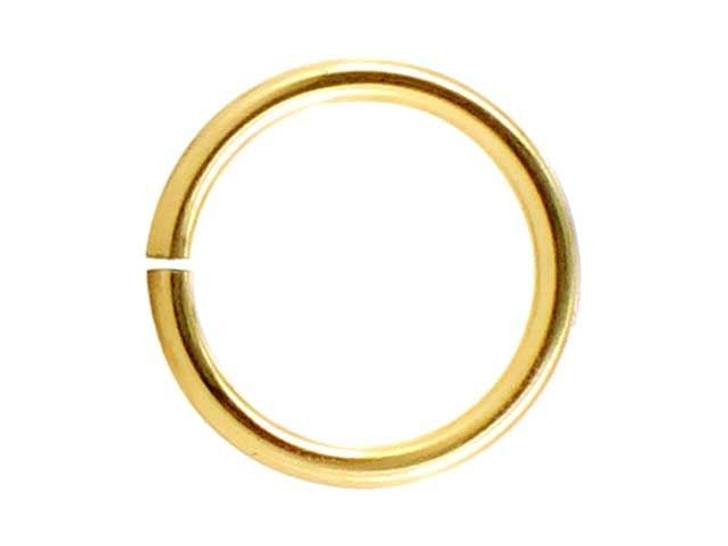 Gold-Filled 14K/20 Open Jump Ring 0.040 x .350 inches (1.0 x 9.0mm)